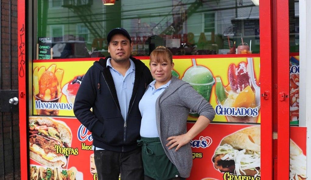 Miguel Xicotencatl and Cecilia Serrano, co-owners of Cositas Deliciosas in Fair Haven.