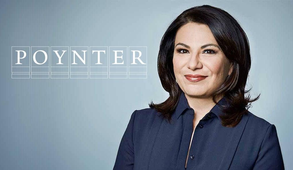 Patti Solis Doyle with Poynter logo