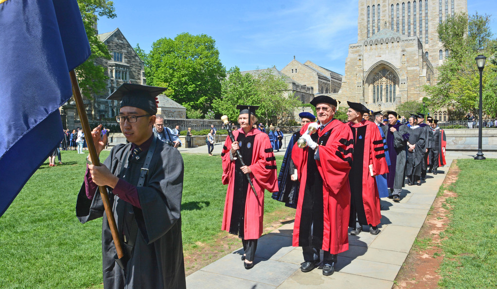 Yale University Commencement 2018