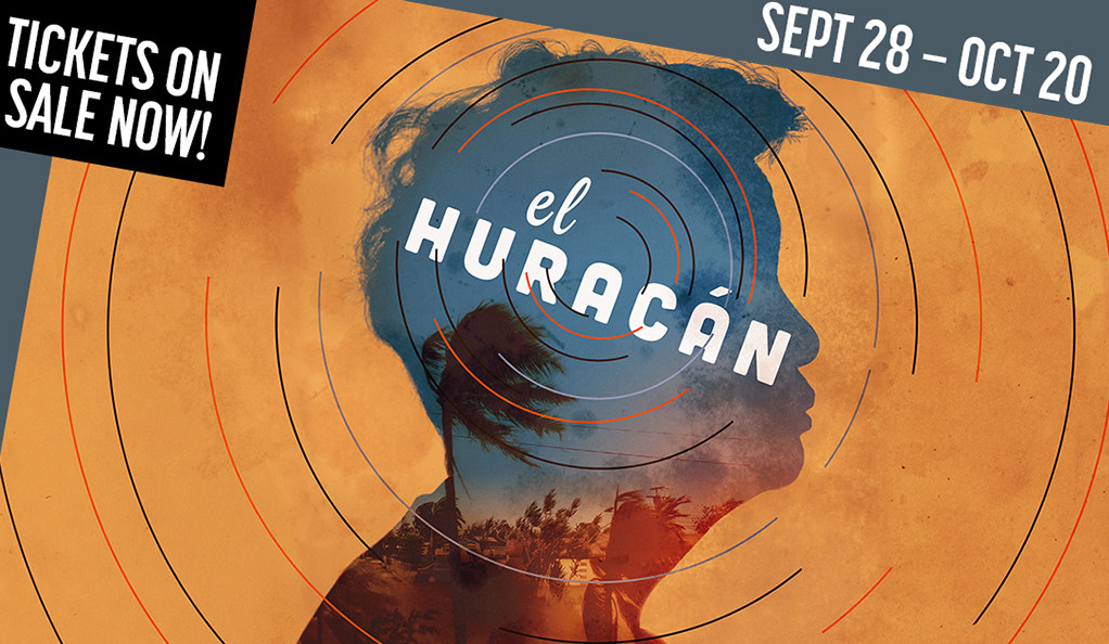 Poster art for El Huracán at the Yale Rep