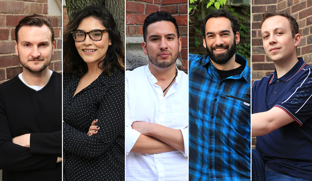 Danilo Gambini, Estefani Castro, Jecamiah M. Ybañez, Martin Montaner V. and Oakton Reynolds