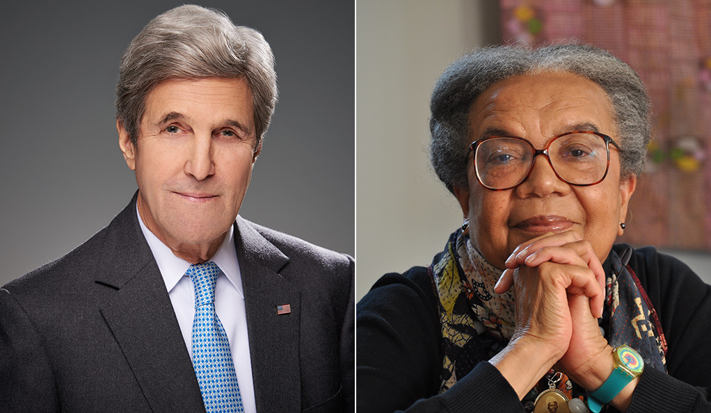 John Kerry and Marian Wright Edelman