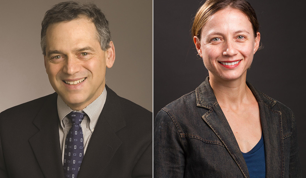 Dr. Harlan Krumholz and Dr. Erica Spatz headshots.