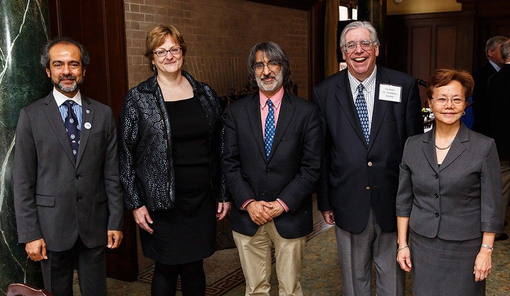 Rahul Prasad, Professor Meg Urry, Professor Akhil Reed Amar, Professor Jay Gitlin, Weili Cheng.