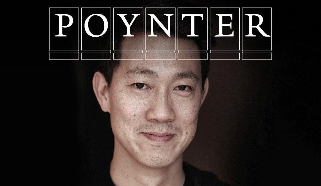 Kevin B. Lee with Poynter Fellowship logo.