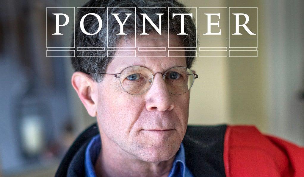 Michael Lemonick with Poynter logo