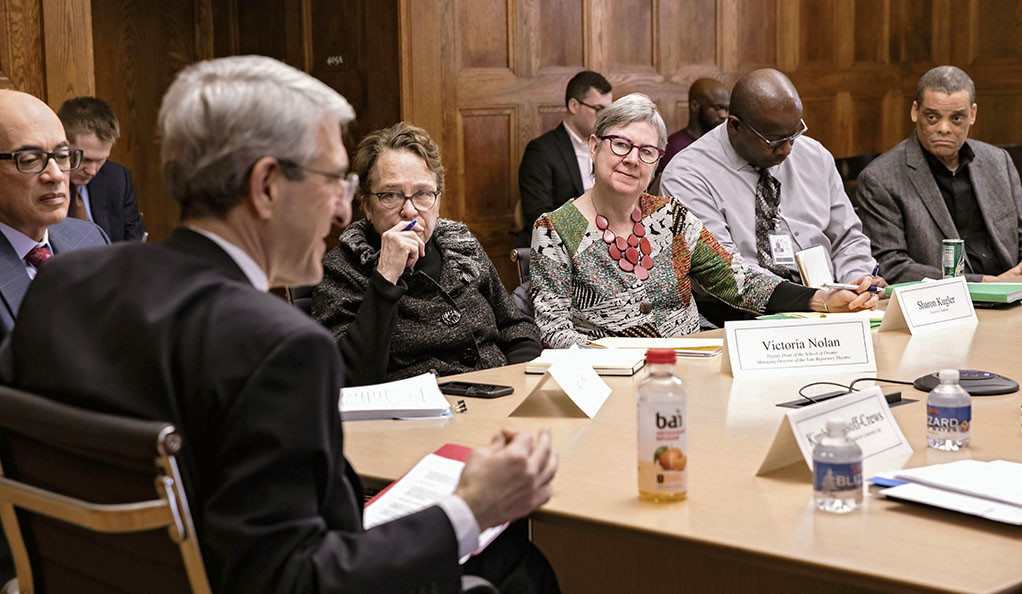 The President's Committee on Diversity, Inclusion, and Belonging meets on Feb. 5.