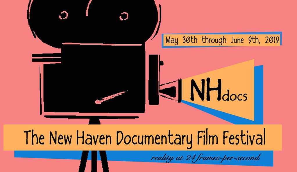 "Poster for ""NHdocs: The New Haven Documentary Film Festival."""