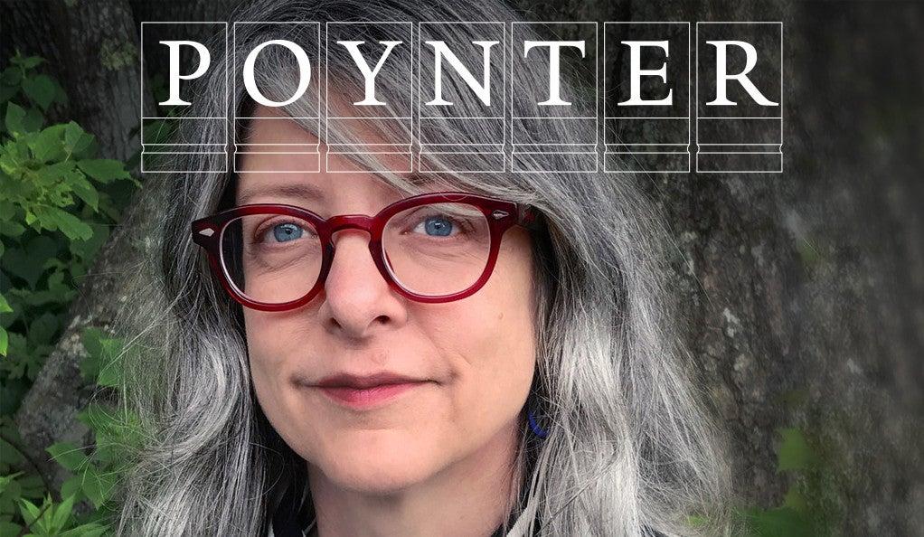 Lisa Margonelli with Poynter logo