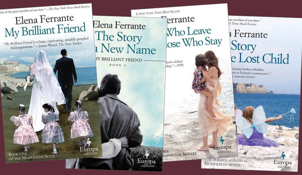 Four novels be Elena Ferrante