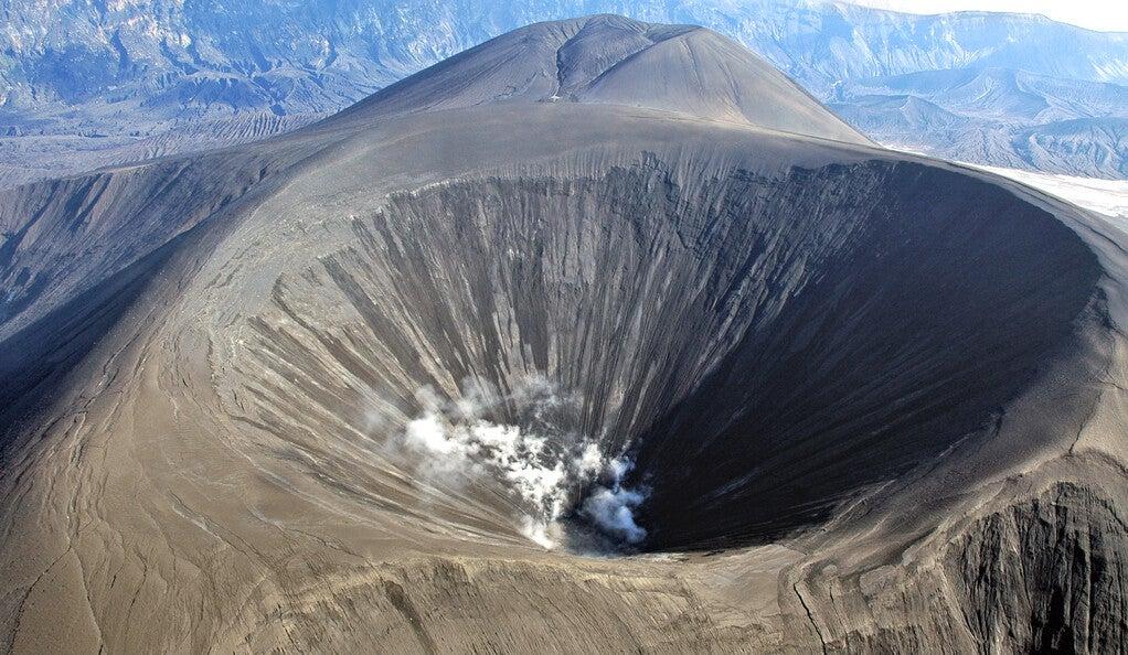 Alaska's Okmok volcano