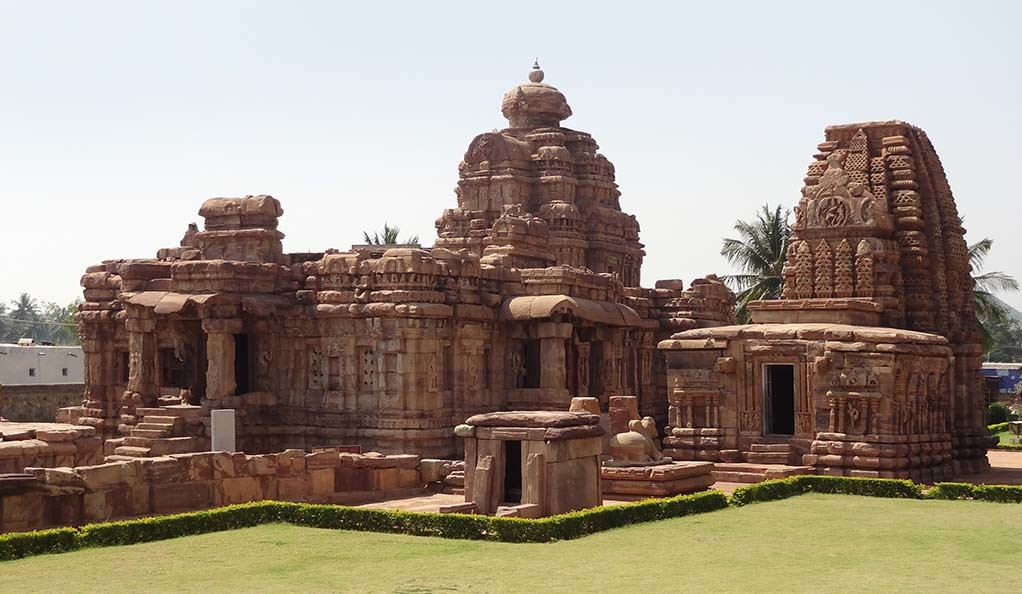 A temple at Pattadakal in India.