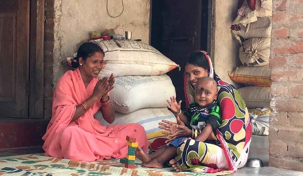 A Bengladeshi family