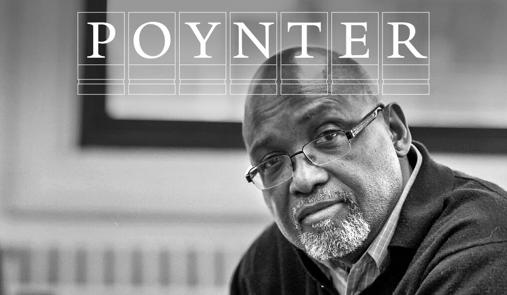 Sam Pollard with Poynter logo.