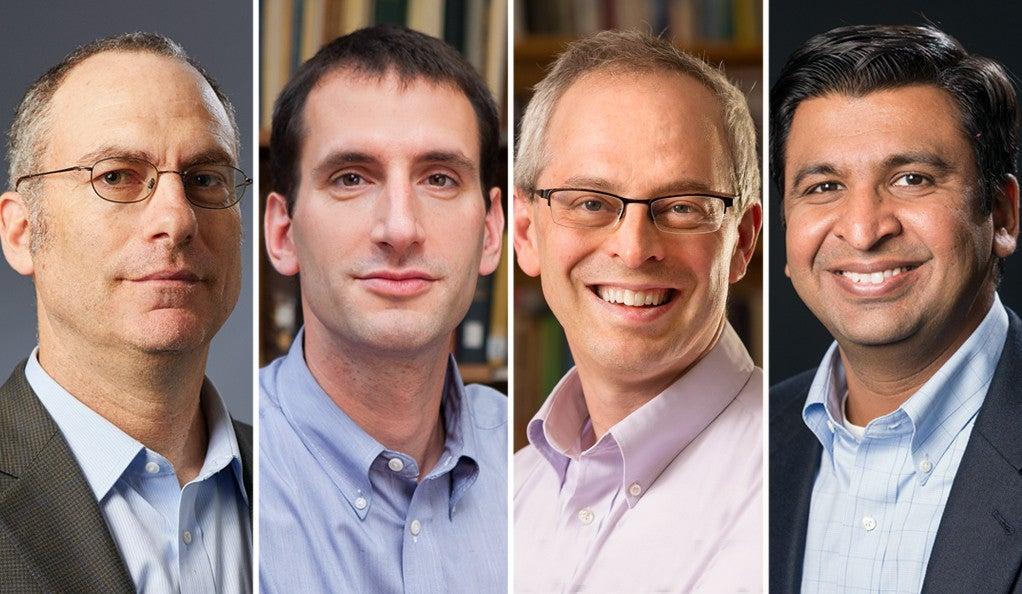 Dr. Daniel Greif, Dr. Joseph Ross, Dr. Cary Gross, and Dr. Chirag Parikh