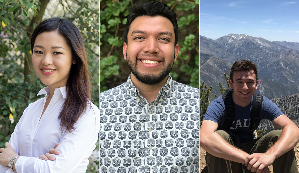Jane Zhang, Fernando Rojas, and Jonathan Greenberg.