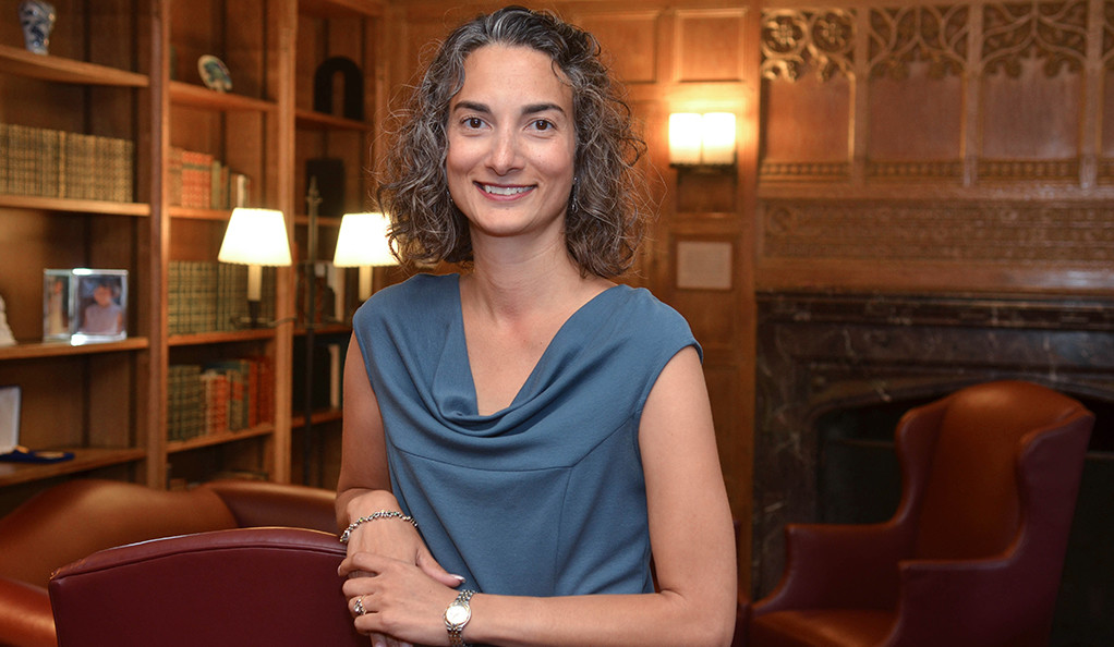 Susan Gibbons, Stephen F. Gates '68 University Librarian at Yale.