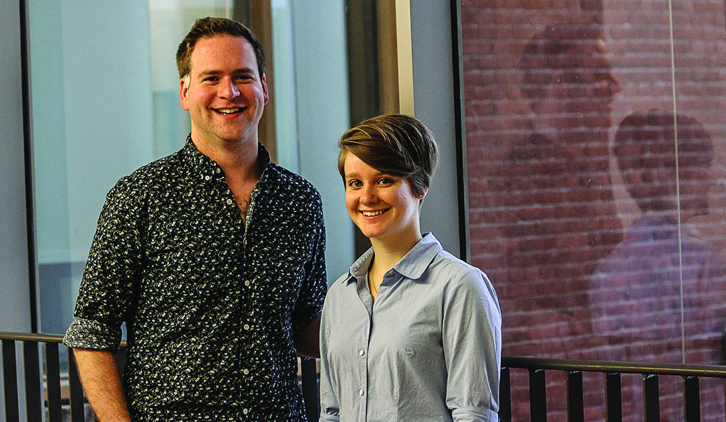Joshua Thompson and Antonia Chandler of Yale School of Music