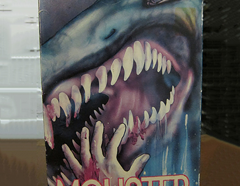 "A VHS copy of the movie ""Monster"""