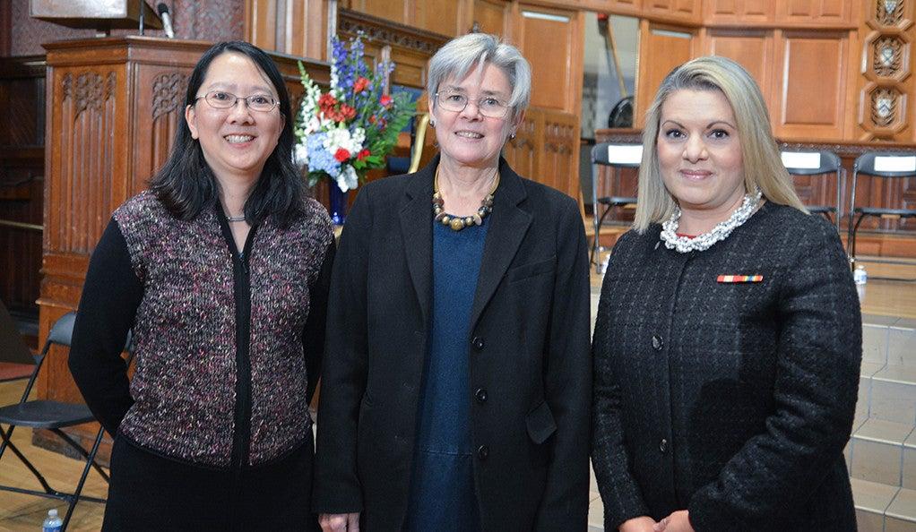 Patricia Wei, Norma Thompson, and Lori Rasile