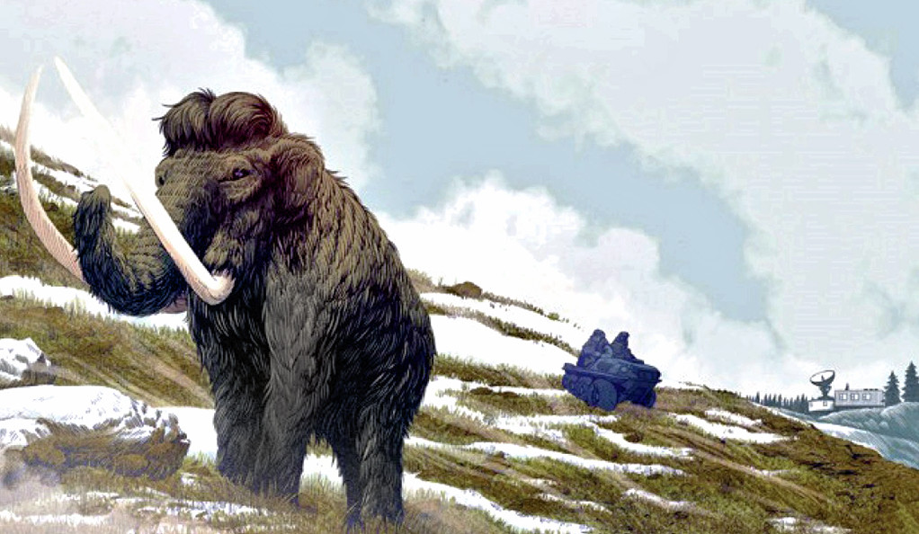 Woolly mammoth.