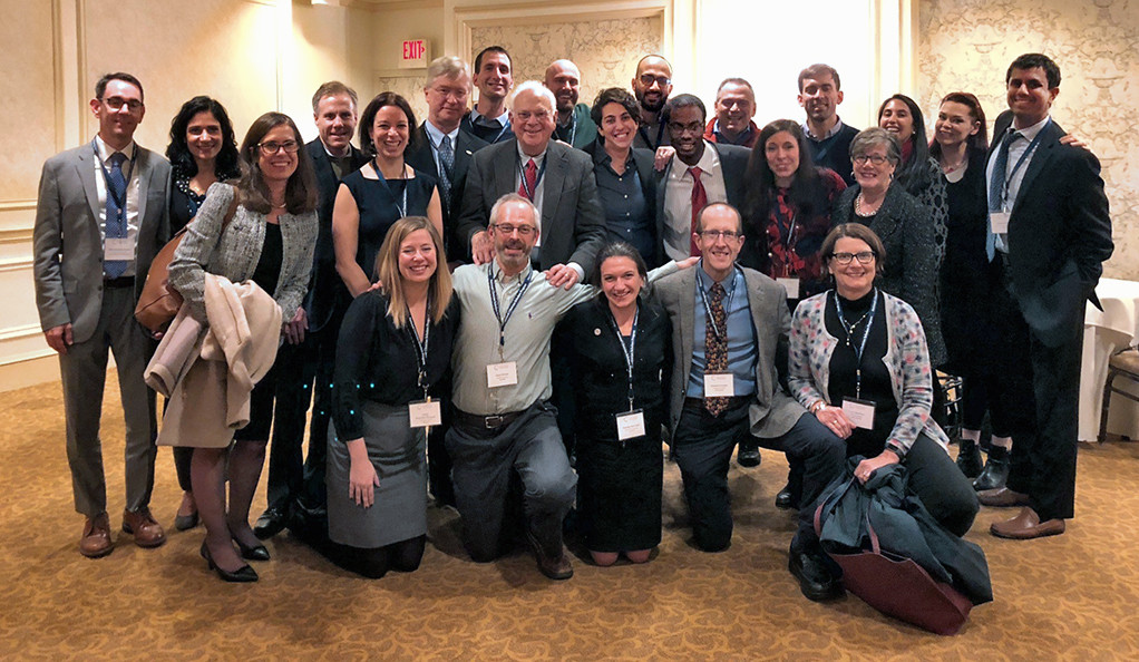 Faculty, scholars, and alumni of the National Clinician Scholars Program at its annual meeting.