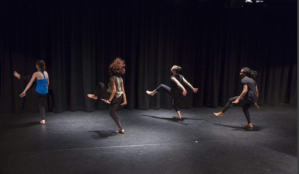 Dancers in last year's Yale Dance Theater project.