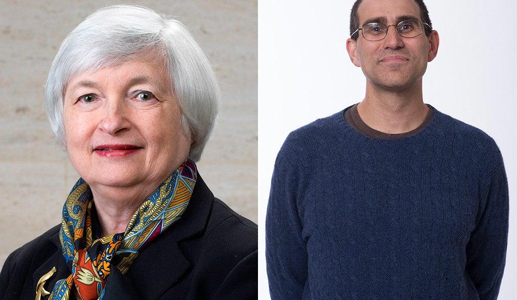 Janet Yellen and Andrew Metrick