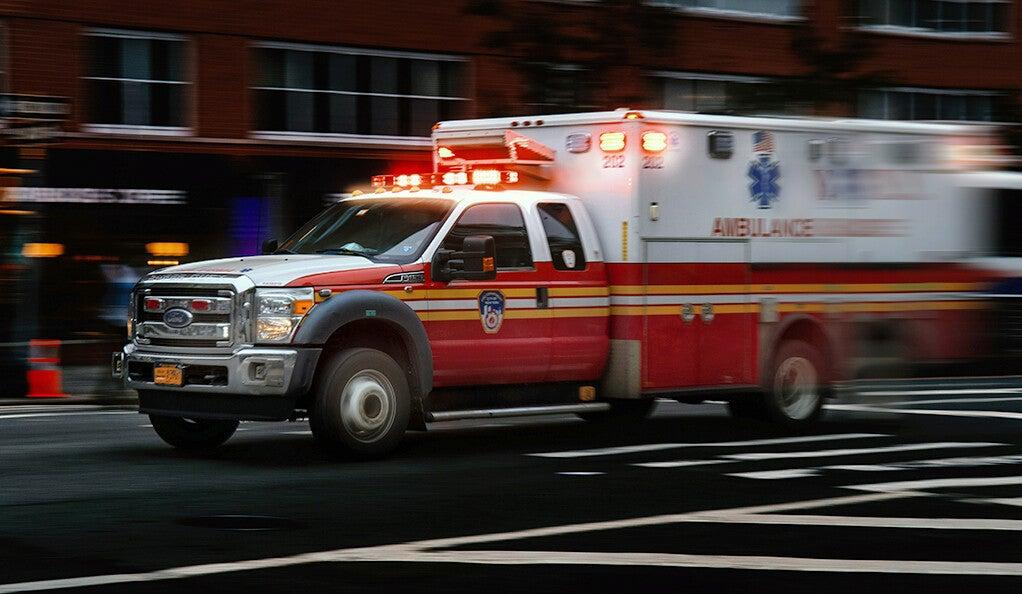 Ambulance in NYC.