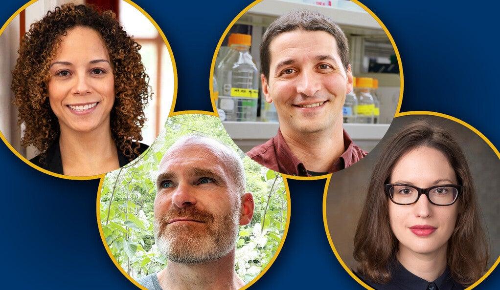 Jennifer Allen, Yarrow Dunham, Alvaro Sanchez, and Sarah Slavoff