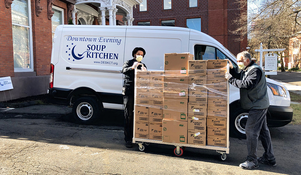Food for the hungry, rent relief for downtown New Haven ...