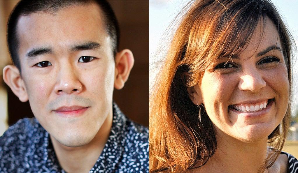 Ed Yong and Liz Neely.