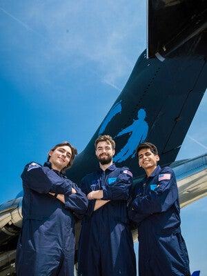 Paul Meuser, Tyler Krebs, and Rishab Jain