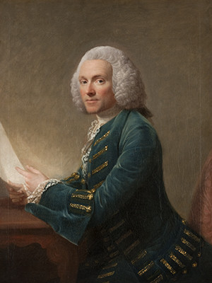 Allan Ramsay, William Hunter, ca. 1764–65, oil on canvas, The Hunterian, University of Glasgow