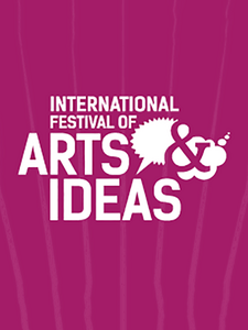 Arts and ideas logo.