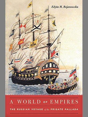 """A World of Empires"" book cover."