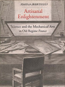 "Photo of the cover of the book titled ""Artisanal Enlightenment."""