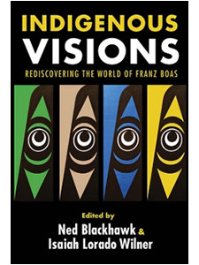 "Cover of the book titled ""Indigenous Visions."""