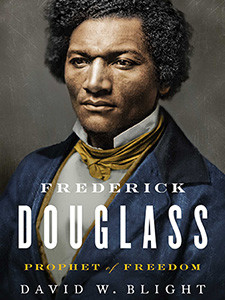 """Cover of the book titled """"Frederick Douglass: Prophet of Freedom."""""""