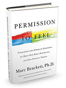 "Cover of the book titled ""Permission to Feel."""