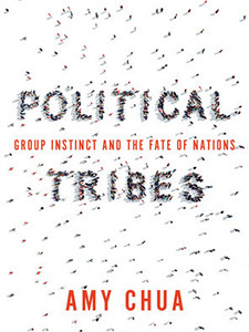 "Cover of the book titled ""Political Tribes."""