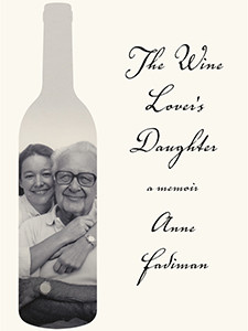 "Photo of the cover of the book titled ""The Wine Lover's Daughter."""