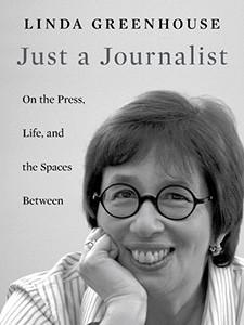 """Photo of the cover of the book titled """"Just a Journalist."""""""