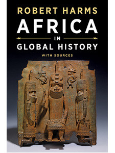 """Cover of the book titled """"Africa in Global History with Sources."""""""