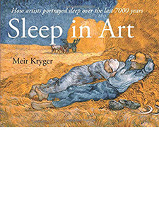 "Cover of the book titled ""Sleep in Art."""