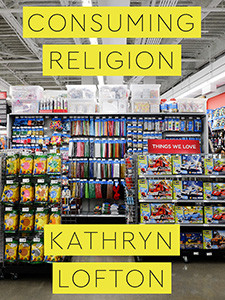 """Photo of cover of the book titled """"Consuming Religion"""""""