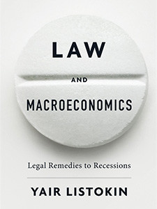 """Cover of the book titled """"Law and Macroeconomics."""""""