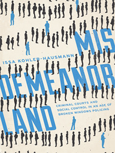 """Cover of the book titled """"Misdemeanorland."""""""