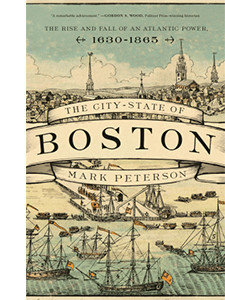 """Cover of the book titled """"The City-State of Boston."""""""