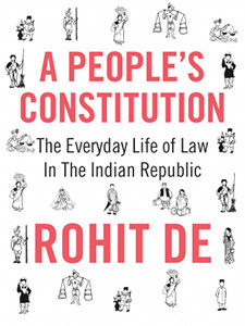 "Cover of the book titled ""A People's Constitution."""